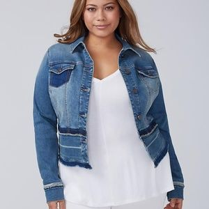 Lane Bryant Denim Jacket - NEW